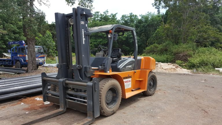 preowned used forklift