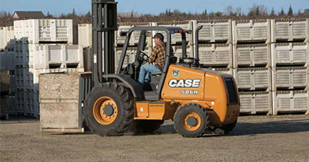 Case forklifts